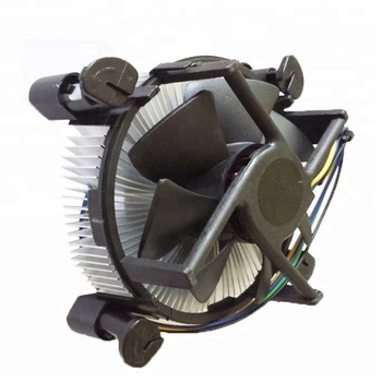 Computer PC CPU Copper Core Center aluminum heatsink fan for dell test with cheap price manufacturer price