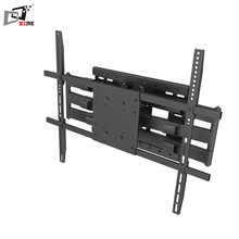 Load Capacity Up to 200 LBS Cantilever Extended Double Arms 60 TV Mount With Tilt And Swivel Functions