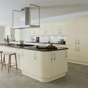 High Gloss Wood Kitchen Furniture Set Kitchen Cabinet Modern Buy