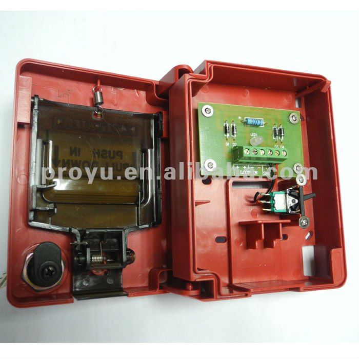 conventional fire alarm system 2 wire manual call point,manual pushconventional fire alarm system 2 wire manual call point, manual push button