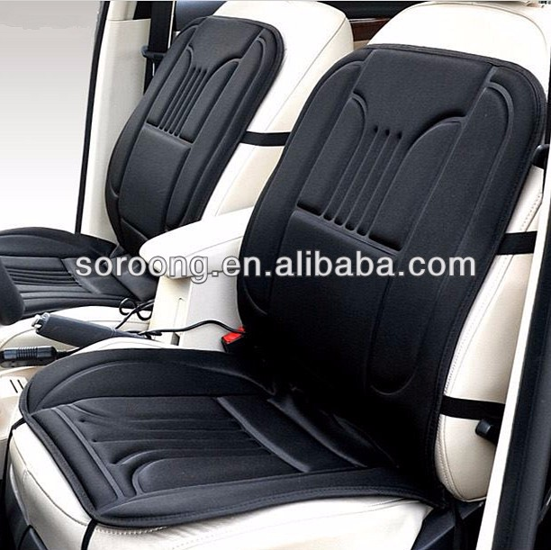 Rectangle Hi Off Lo Switch Seat Heater 4 Seats Install: Hot Sale 12v Portable Thickening Electric Heated Car Seats