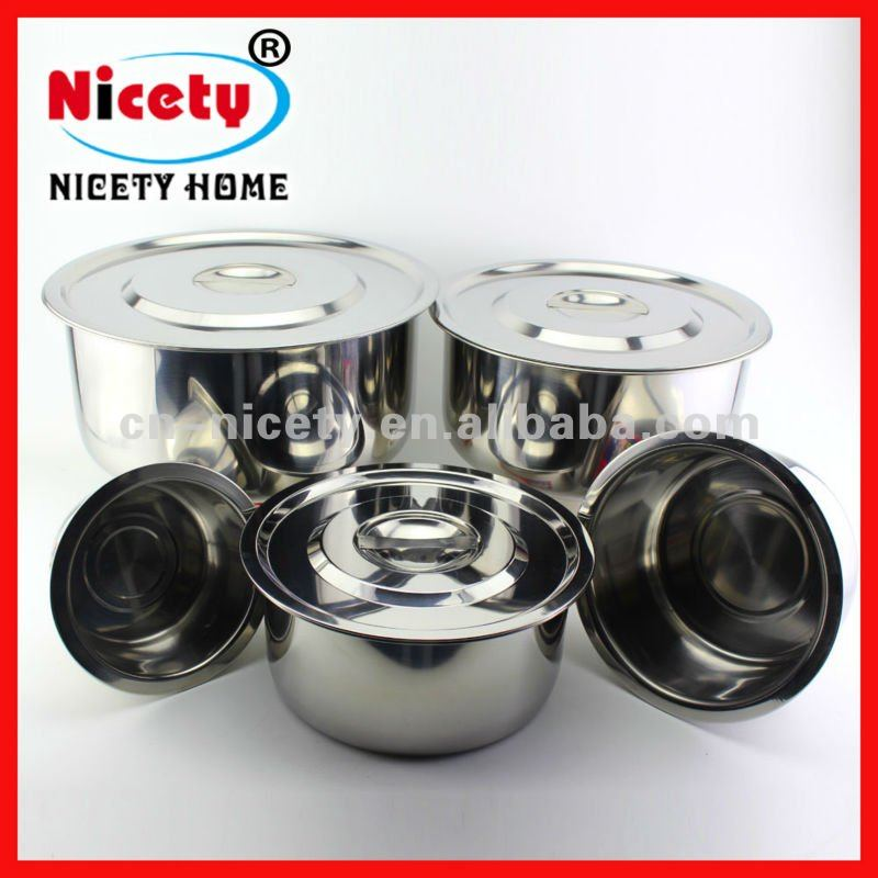 High Quality 555 Stainless Steel Stock Pot