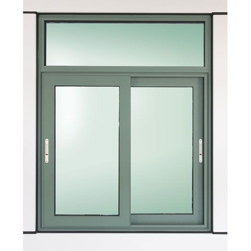 House Sliding Window With Fixed Top Panel Buy House