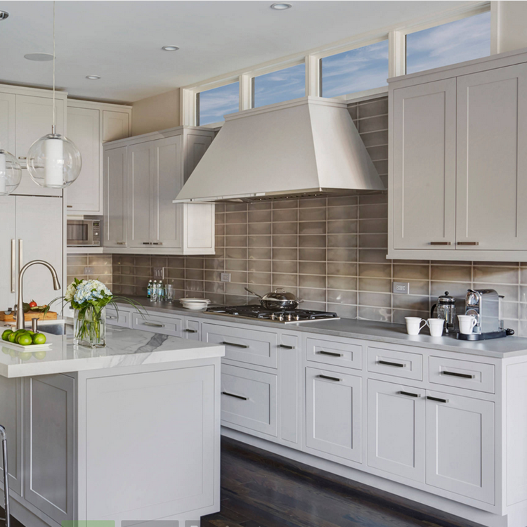 Household Kitchen Cabinets Solid Wood Used Kitchen ...