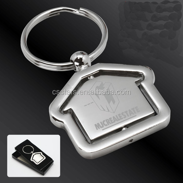 promotional key chain in house shape