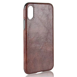 Pull up crazy horse pu leather back phone case for iphone 8, soft tpu full edge for iphone 8 case