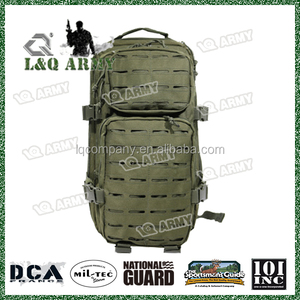 2017 Hot Sale Laser cut Army Backpack with ISO9001,BSCI ,SEDEX Certificates