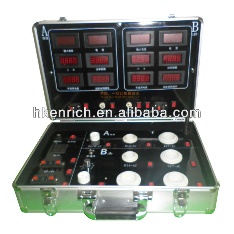 Portable led demo case /demo box easy to test your led lights