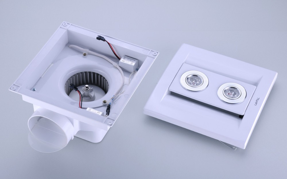 Kitchen Ceiling Extractor Exhaust Fan : Kitchen exhaust fan with light ceiling extractor