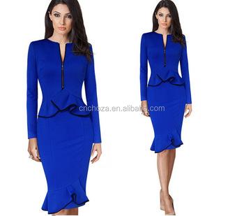 a7024d52f59 Z60741y Ladies Fashion Design Women Official Dresses - Buy Ladies ...