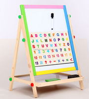 Paper Toy For Coloring / Poster Writing Board / Wooden Easel ...
