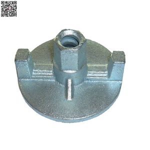 Hot sale concrete formwork tie rod cast iron cast steel wing nuts