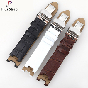 2018 New women Handmade Leather Strap For 18MM Ladies Waterproof Watchband