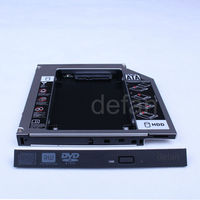 2nd 12.7mm SATA to PATA IDE HDD Caddy 2.5 Hard Drive Caddy Adapter for HP/DELL/ACER