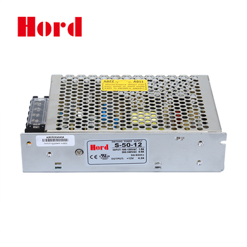 Variable Voltage S-50-12 Single Output Switching Power Supply - Buy Switch  Mode Power Supply,Switching Power Supply Schematic,Single Output Power