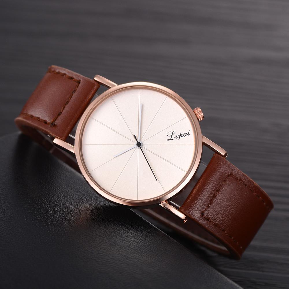 Men's Watches Fanala Watch Men Fashion Stainless Steel Round Analog Quartz Wrist 37mm Watch Complete Schedule Bracelet Bangle 8mm Watches