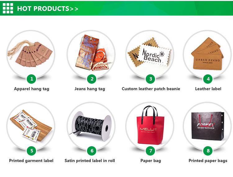Personalizada de fábrica qualidade boutique de embalagem saco de compras de papel kraft