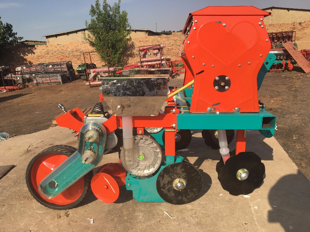 Small Tractor 3 Point Hitch 2 Row 3 Row 4 Row Corn Seed Planter For