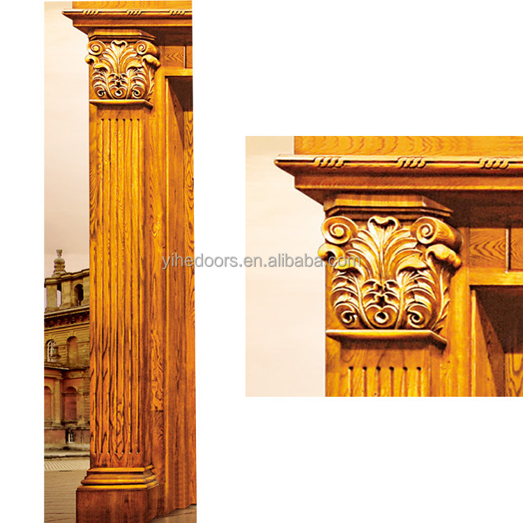 Up-to-the-minute luxury solid wood door main door wood carving door  sc 1 st  Guangdong Ehe Doors And Windows Technology Co. Ltd. - Alibaba & Up-to-the-minute luxury solid wood door main door wood carving door ...