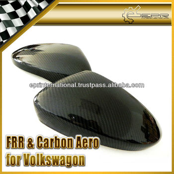 For Volkswagon VW Scirocco Carbon Fiber Mirror Cover