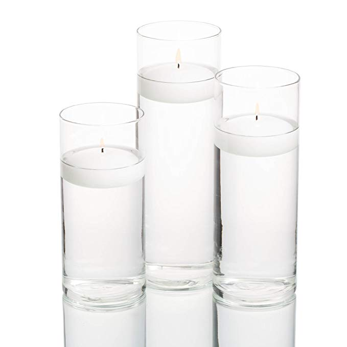 Wholesale Cheap Tall Decoration different size glass crystal vases for Flower