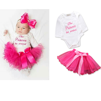 New Arrival Toddler Girls Clothing Sets White Long Sleeve Romper+rose Tutu  Skirt Princess Birthday Party Autumn Outfits - Buy Newborn Baby Girls  Boutique Clothing,Cute Toddler Girls Clothing Sets,Baby Girls Skirt Sets  Product