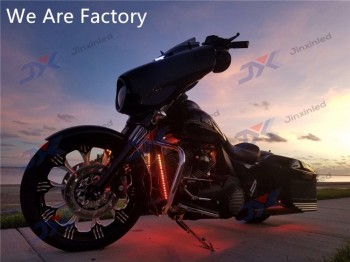 12pc Custom Motorcycle Multi-color Neon Underglow Universal Light Kit - Buy  Led Light Strip Kit,Motorcycle Underglow Light,Motorcycle Accent Light