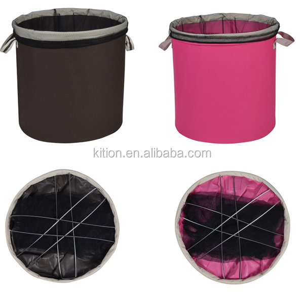 Foldable Laundry Bin Laundry Basket Oxford Cloth Laundry Bin