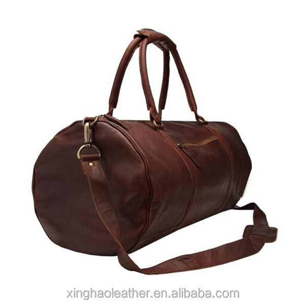 a8f963637c69 Alibaba Shenzhen Leather Duffel Travel Bag Manufacturer Round Gym Bag  Elegant Cute Duffle Bags