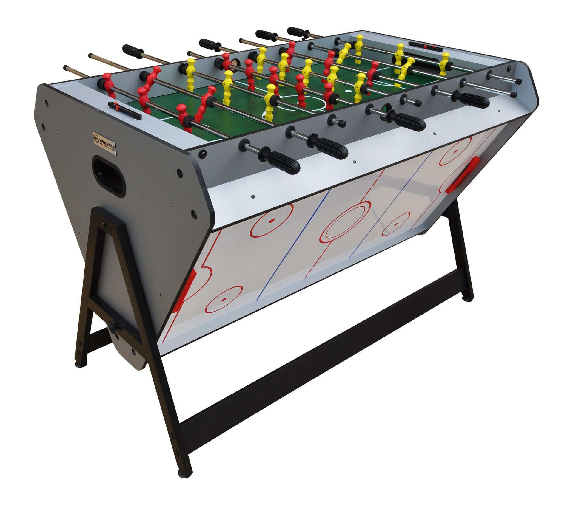 Grappig Indoor Sport muntautomaat 3 in 1 multi voetbal tafel ijshockey arcade tafel games for sale