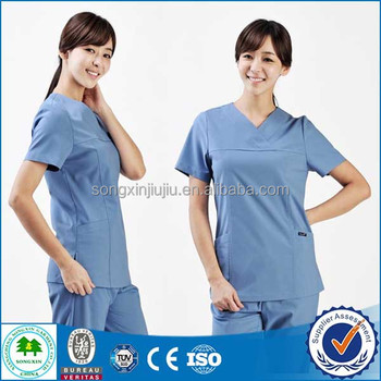 Fashion Design Cotton Unisex Scrubs Uniforms,Wholesale Medical Uniforms,Hospital Staff Uniform