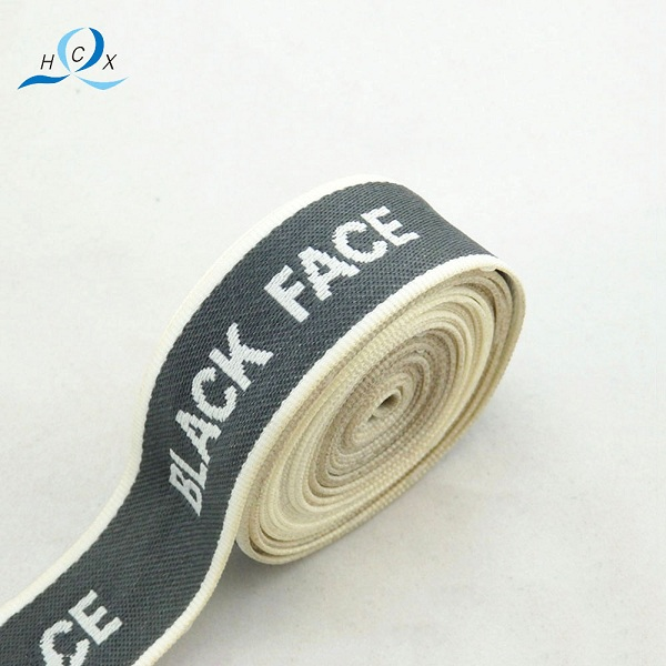 factory price wholesale custom woven jacquard tape with logo