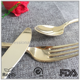 Gold Plated disposable plastic Cutlery Silverware Flatware Sets