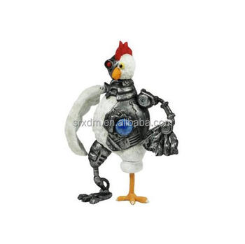 Hot Custom Adult Swim Robot Chicken Electronic Robot 10 Inch ...