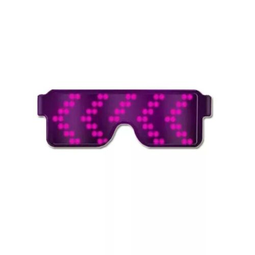 Rechargeable Sunglasses LED Glasses Light Up Sunglasses Unisex Party Gift KP096