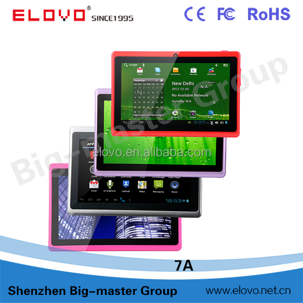Hot selling 7 inch Allwinner A13 1.2GHz Q88 mini android <strong>tablet</strong>