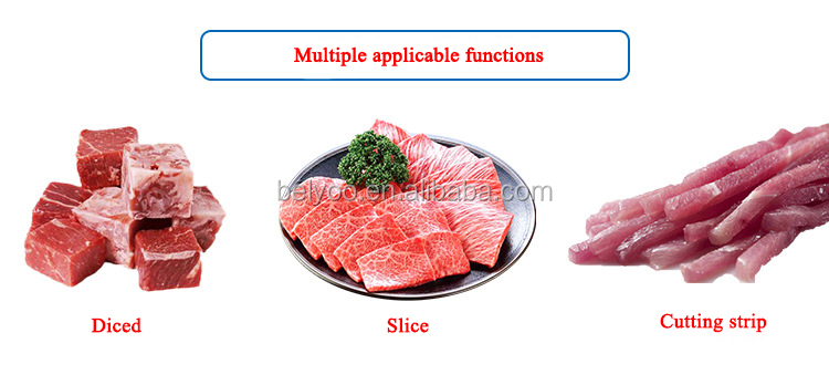 Easy operation commercial cubed meat cutting dicer machine Chicken meat cutting machines Manufacturer