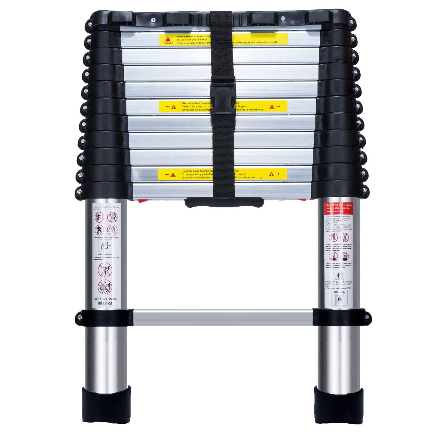 En131 telescopic ladder brightest t12 bulb