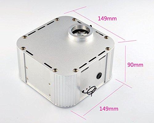 32W Led Fiber Optic Star Ceiling Kit Light 0.03in/0.75mm 16.5ft/5m 1000pcs, Twinkle 4-speed Engine Driver