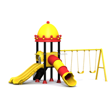 2017 New Mould Kids Colorful Slide Outdoor Play Toys With Swing