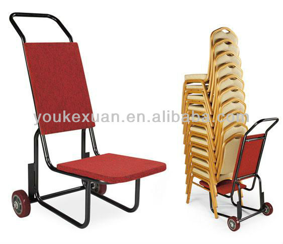 Youkexuan HC-308 banquet chair trolley