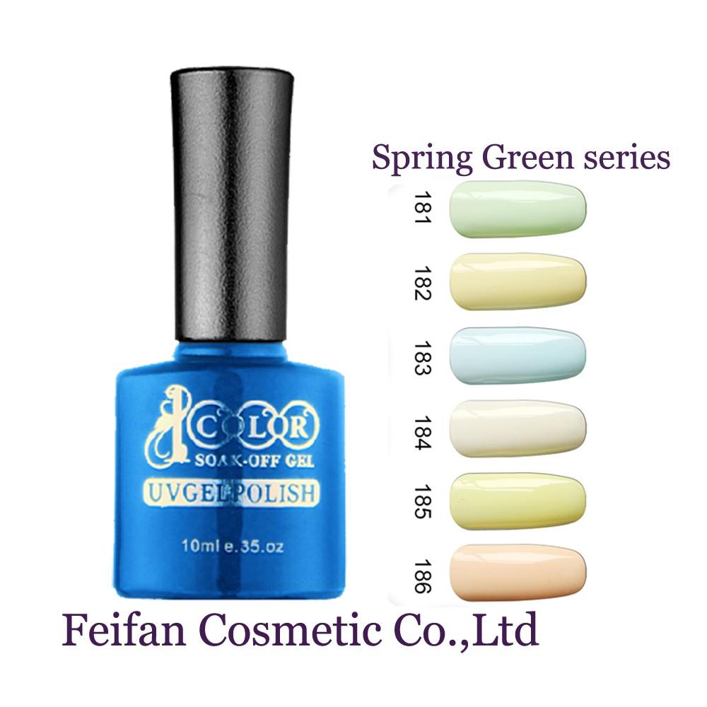 Fei Fan Noticias 2017 Color 1000 Primavera De Color Verde Esmalte De ...