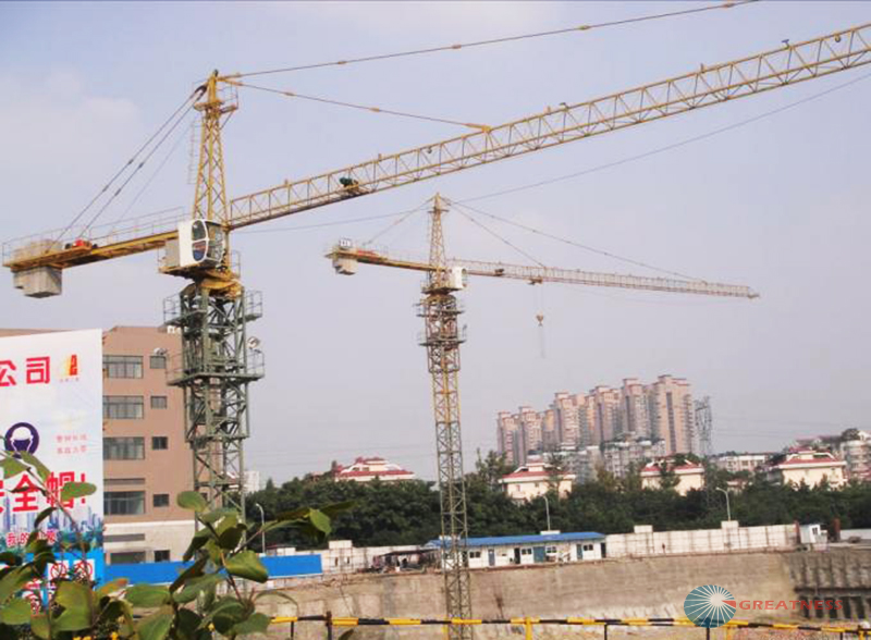 second hand used tower crane by foshan tower crane manufacturer high quality