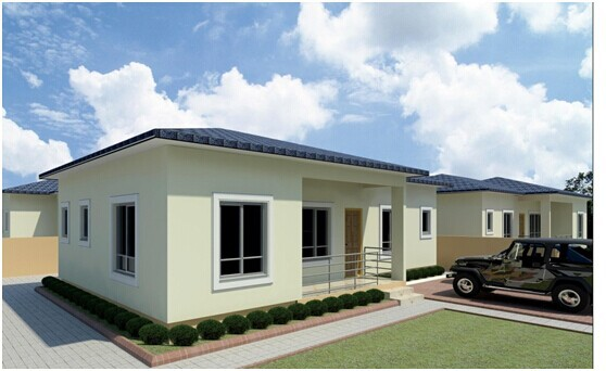 Modern Design Prefabricated House Kits For India Malaysia Thailand