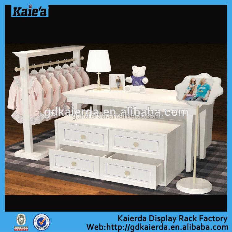 Floor Wood Baby Shop Display Baby Clothing Display Stand Buy Baby