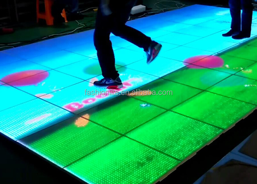 Hot Sale Interactive And Portable Led P15 Video Dance