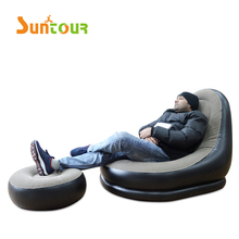 Inflatable <span class=keywords><strong>Beanbag</strong></span> अल्ट्रा लाउंज Inflatable कुर्सी w/छात्रावास तुर्क सोफा कुर्सी