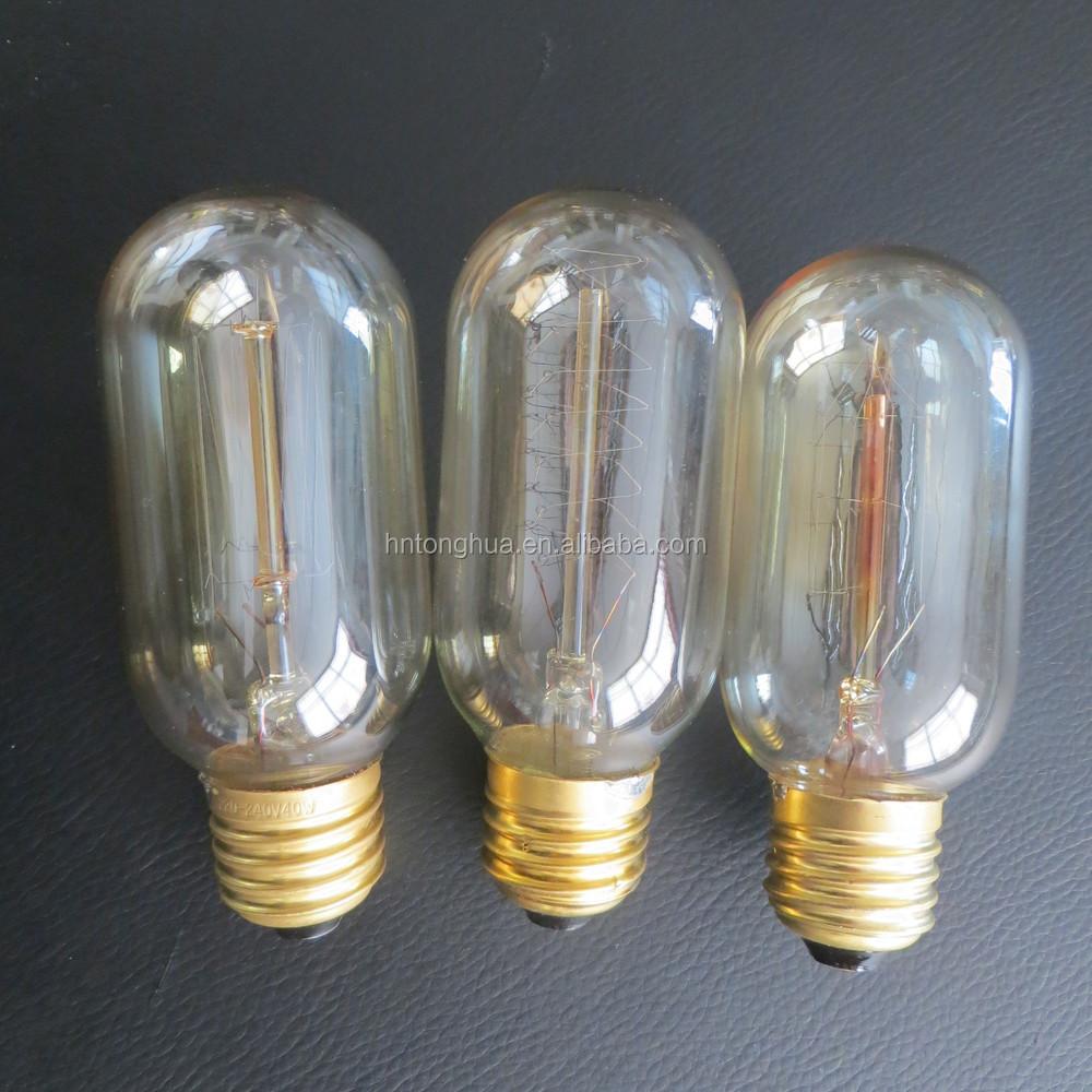 T45 Radio Spiral Edison Bulb Antique Bulb Early Electric Bulbs ...