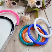 New arrival single pure color bangle design Ball point Pen for Easy To Carry on leg