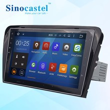 Single din Android car multimedia player system for skoda octavia stereo radio dvd with bluetooth